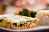 Lasaña de espinacas y queso ricotta